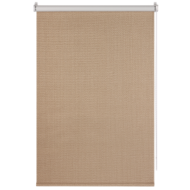 Штора рулонная Dublin блэкаут 100x160 см, цвет коричневый