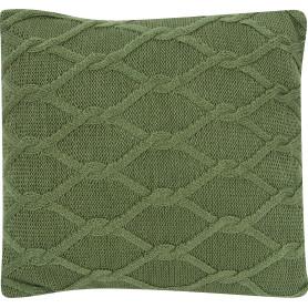 Подушка «Ромб», 40х40 см, цвет зелёный