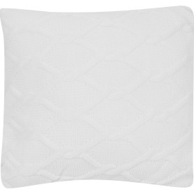 Подушка «Ромб», 40х40 см, цвет белый