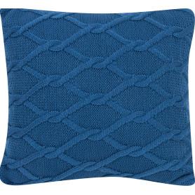 Подушка «Ромб», 40х40 см, цвет синий