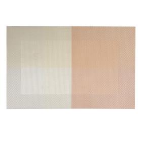 Салфетка сервировочная «Мираж» 30x45 см цвет розовый