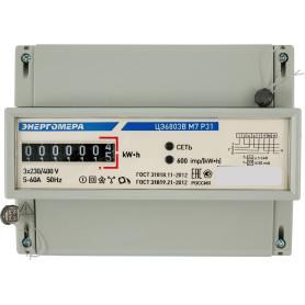 Счётчик электроэнергии ЦЭ6803В 1 230В М7 Р31 5-60А, трёхфазный
