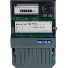 Счётчик электроэнергии Меркурий 230 АМ 02 10-100А, трёхфазный