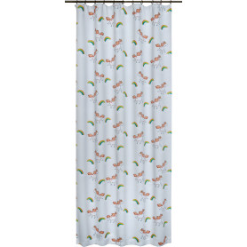Штора на ленте «Единорог» 145х260 см цвет бежевый