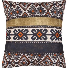 Подушка «Тунис» 50x50 см цвет коричневый