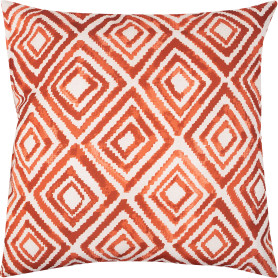 Подушка «Сахара» 50x50 см цвет красный
