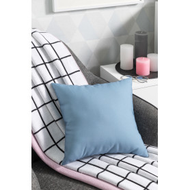 Подушка «Радуга» 40x40 см цвет серо-синий