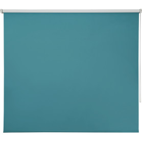Штора рулонная Inspire Blackout, 140x175 см, цвет голубой