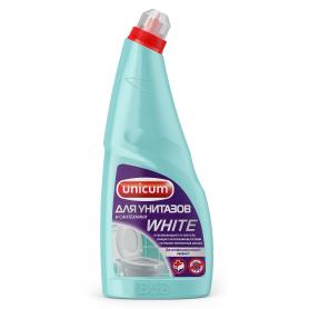 Гель для чистки унитаза Unicum White 0.75 л