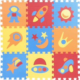 Пол мягкий «Космос», ЭВА, 33x33 см