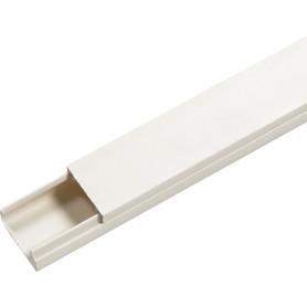 Кабель-канал IEK 20x10 мм 2 м, цвет белый
