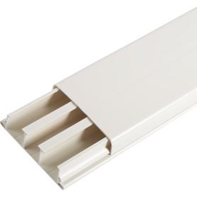 Кабель-канал плинтус IEK 75x20 мм цвет белый