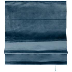 Штора римская «Милфид», 160x190 см, цвет синий