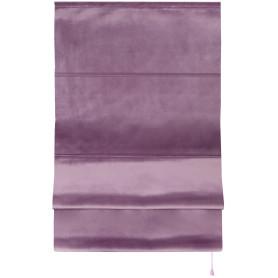 Штора римская «Милфид», 60x160 см, цвет лиловый