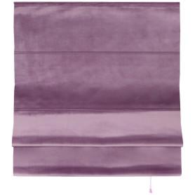 Штора римская «Милфид», 140x190 см, цвет лиловый