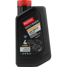 Масло моторное для четырехтактных двигателей Rezoil Molybden SAE 10W-40 полусинтетическое 1 л