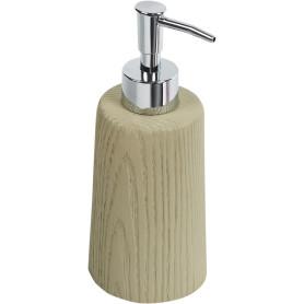 Дозатор для жидкого мыла Tronco полирезина цвет бежевый