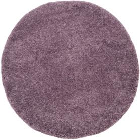 Ковёр «Шагги Тренд» L001 Ø1.5 м цвет сиреневый