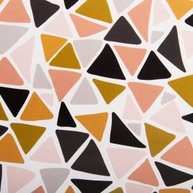 Бумага упаковочная «Треугольник» 70х100/1 лист