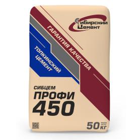 Цемент Сибирский Цемент М400 ЦЕМ II/А-Ш 32.5 Б 50 кг