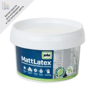 Краска для стен и потолков Jobi Mattlatex база A 250 мл