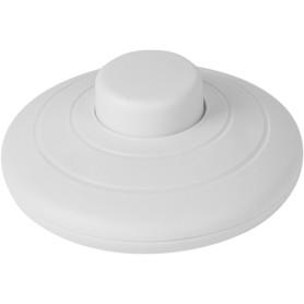 Выключатель ножной Oxion, цвет белый