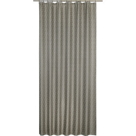 Штора на ленте «Неоклассика», 160x280 см, геометрия, цвет серый