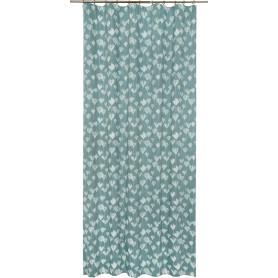 Штора на ленте Daily Крокус, 160x280 см, цветы, цвет голубой