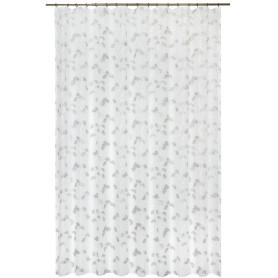 Тюль на ленте «Крокус», 250x280 см, цветы, цвет белый