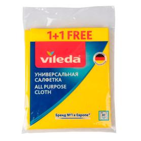 Салфетка универсальная Виледа цвет желтый 2 шт.