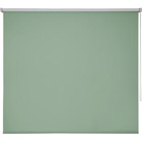 Штора рулонная Inspire блэкаут 180x175 см, цвет зелёный