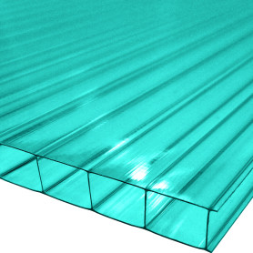 Поликарбонат сотовый 3000х2100х8 мм зеленый