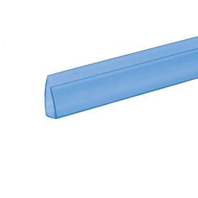 Профиль торцевой 2100х8 мм синий
