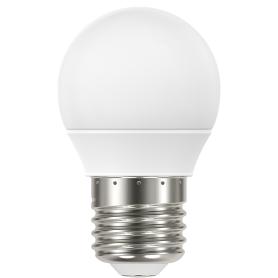 Лампа светодиодная Lexman E27 220 В 4.8 Вт сфера матовая 470 лм, белый свет