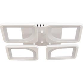 Люстра потолочная светодиодная Сорте 5524/35C 12 м², регулируемый белый свет, цвет белый