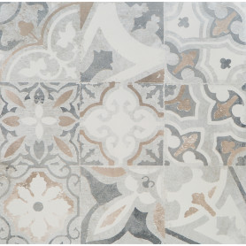 Керамогранит «Цементо Декор» 45х45 см 1.42 м² цвет серый
