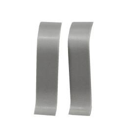 Соединитель для плинтуса «Серый», высота 60 мм, 2 шт.