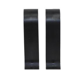 Соединитель для плинтуса «Чёрный», высота 60 мм, 2 шт.