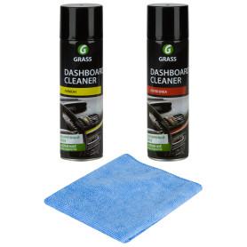 Набор полиролей Grass Dashboard Cleaner, 0.65 л