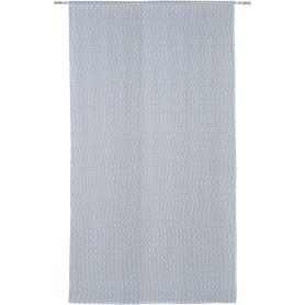 Тюль на ленте Cho Oyu 250x280 см геометрия цвет голубой