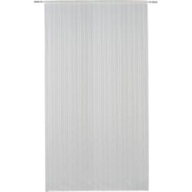 Тюль на ленте Everest 250x280 см полоски цвет белый