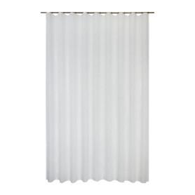 Тюль на ленте Kabru 300x280 см цвет белый