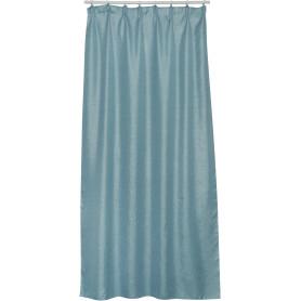 Штора на ленте Kirat Chuli 160x280 см цвет голубой