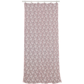 Тюль на ленте Gimmigela 140x280 см цвет розовый