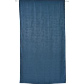 Штора на ленте Broad 160x280 см геометрия цвет голубой
