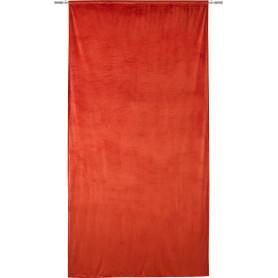Штора на ленте Peak 140x280 см цвет оранжевый