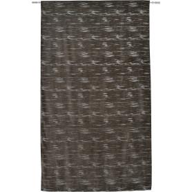 Штора на ленте Nanda 140x280 см однотон цвет серый