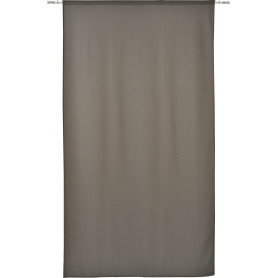 Штора на ленте Saltoro 140x280 см геометрия цвет тёмно-серый