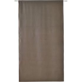 Штора на ленте Kangri 160x280 см полоски цвет тёмно-серый