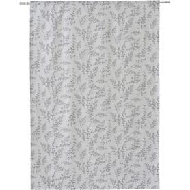Штора на ленте Chogolisa 160x280 см узоры цвет серый